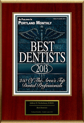 "Jeffrey D. Nicholson Selected For ""Best Dentists"".  (PRNewsFoto/American Registry)"