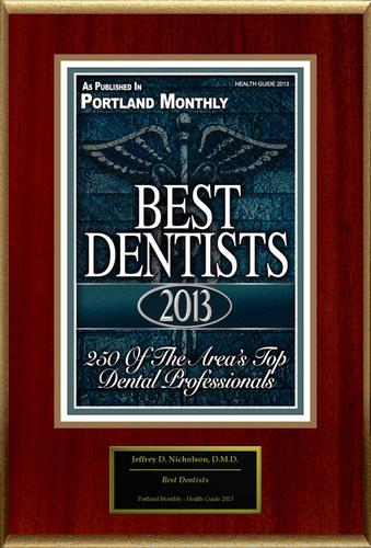 "Jeffrey D. Nicholson Selected For ""Best Dentists"".  (PRNewsFoto/American Registry)"