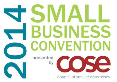 2014 Small Business Convention, October 22-24 at Kalahari Resorts, Sandusky, Ohio. (PRNewsFoto/(COSE))
