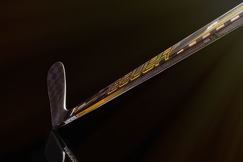 Bauer Hockey's newest stick SUPREME 1S uses TeXtreme(R) Technology. Photo credit: Bauer Hockey ...