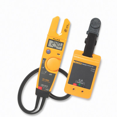 In contrast to using a known live source, using the PRV240 does not require personal protective equipment (PPE) for tester verification. Use of the PRV240 reduces the risk of shock and arc flash compared to verification of test instruments on high-energy sources in potentially hazardous electrical environments because the PRV240 provides a known voltage in a controlled, low-current state in accordance with safe work practices.