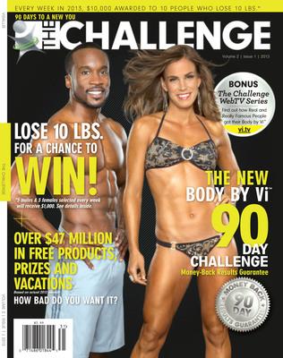 THE CHALLENGE Magazine.  (PRNewsFoto/ViSalus)