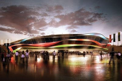 The new National Gymnastics Arena will host Artistic and Rhythmic Gymnastics, as well as the Trampoline competition. The permanent seating capacity is 9,000, but there is an option to temporarily increase it to 12,000, if required.