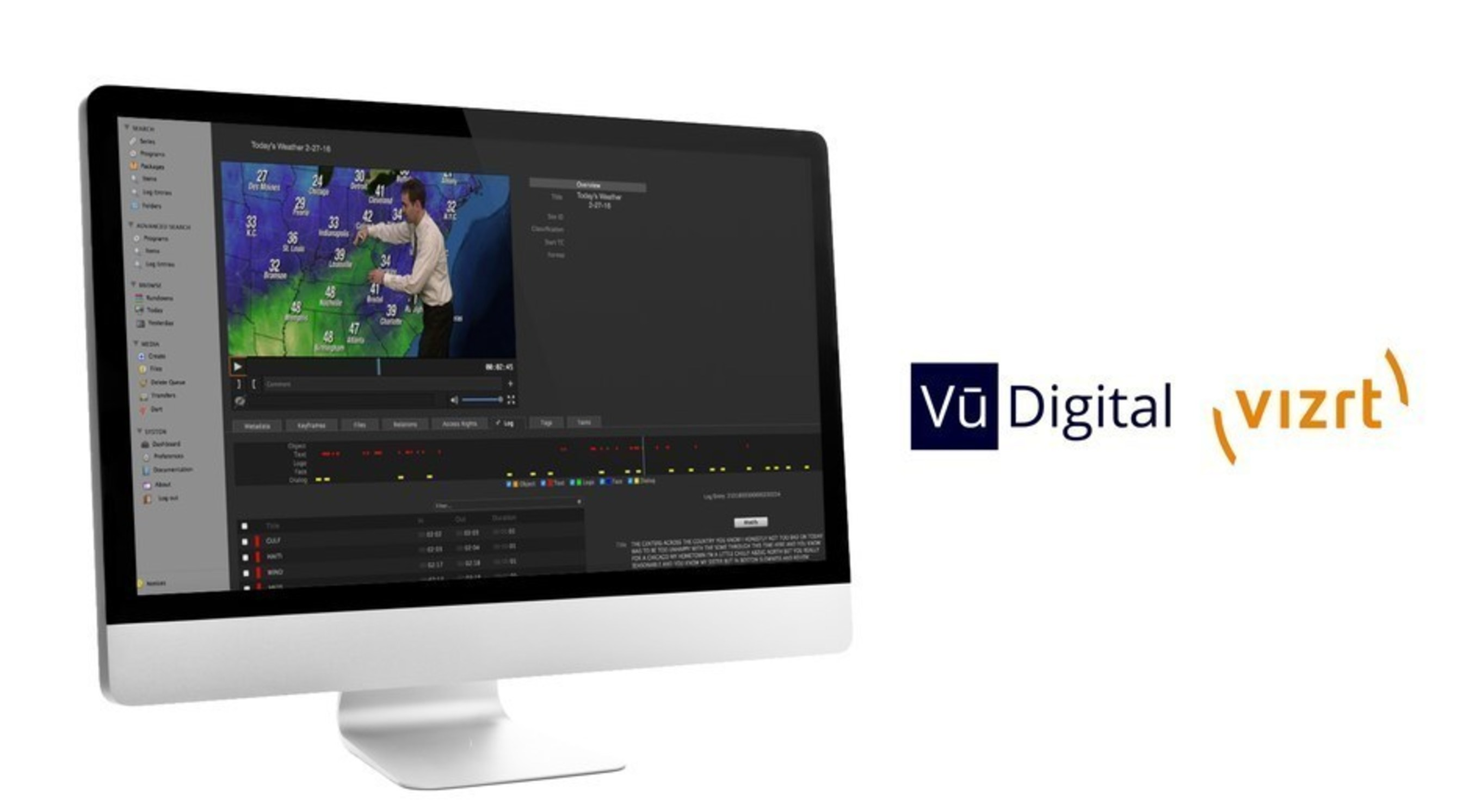 Vizrt and Vu Digital, a Mississippi-based technology start up, are teaming up to provide media and entertainment companies a powerful, new automated tools to enrich metadata. Both companies plan to showcase the technology solution at next week's National Association of Broadcasters annual conference in Las Vegas, Nevada. (PRNewsFoto/C Spire)