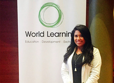 Johanny was awarded as one of five 2016 Advancing Leaders Fellows by the organization World Learning.