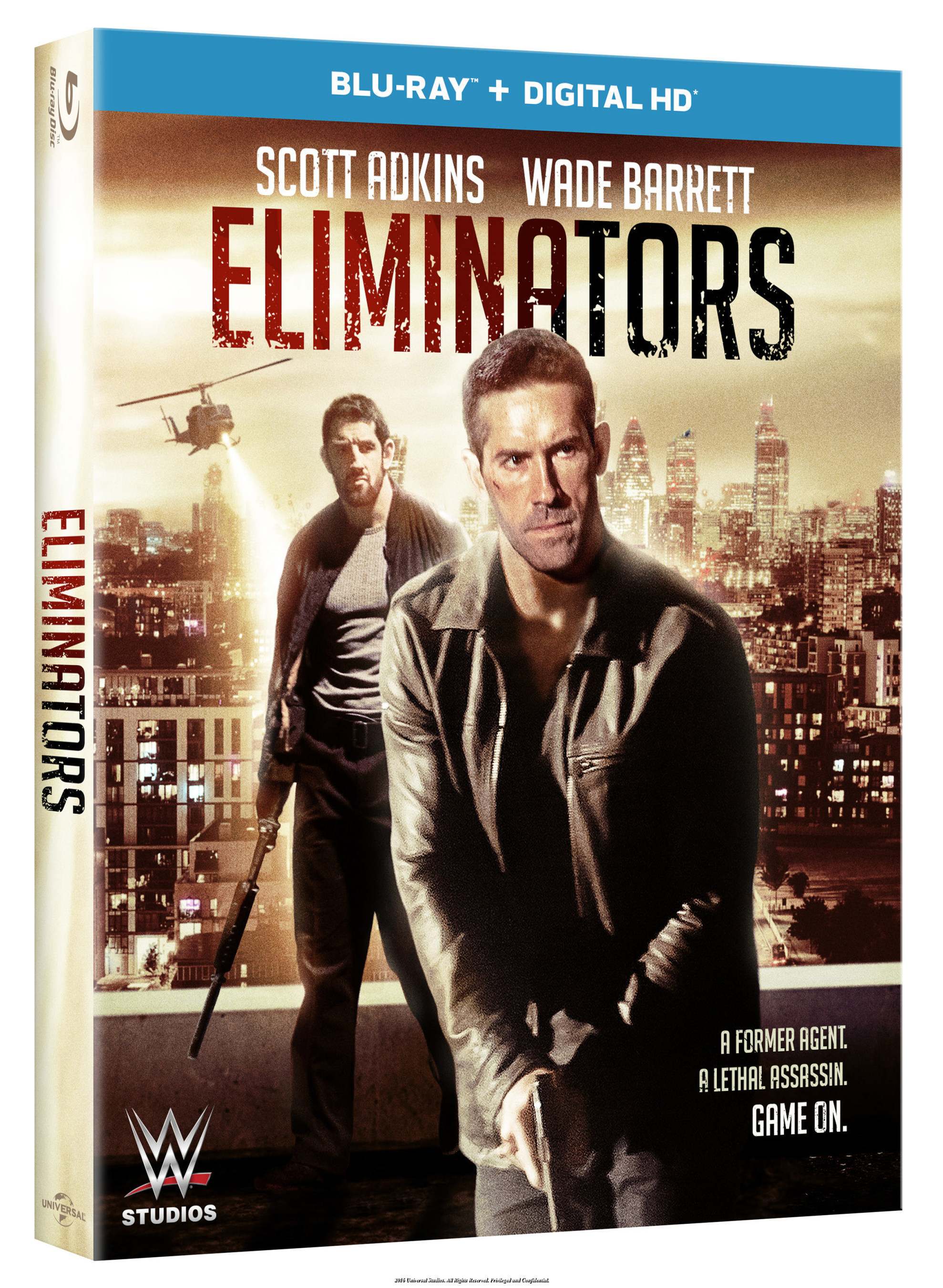 From Universal Pictures Home Entertainment And WWE' Studios: Eliminators