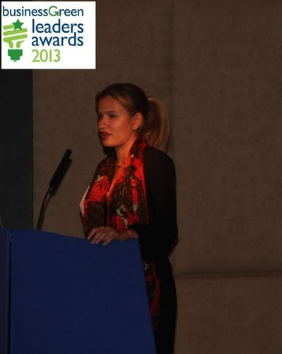 Inna Braverman, Co-founder and Marketing Director of Eco Wave Power has Been Shortlisted for the