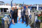 AmaWaterways executives join AmaSerena's Godmother, Mayor Florian Gams of Vilshofen, and 2nd County Commissioner, Rainmund Kneidinger at the ship's christening.