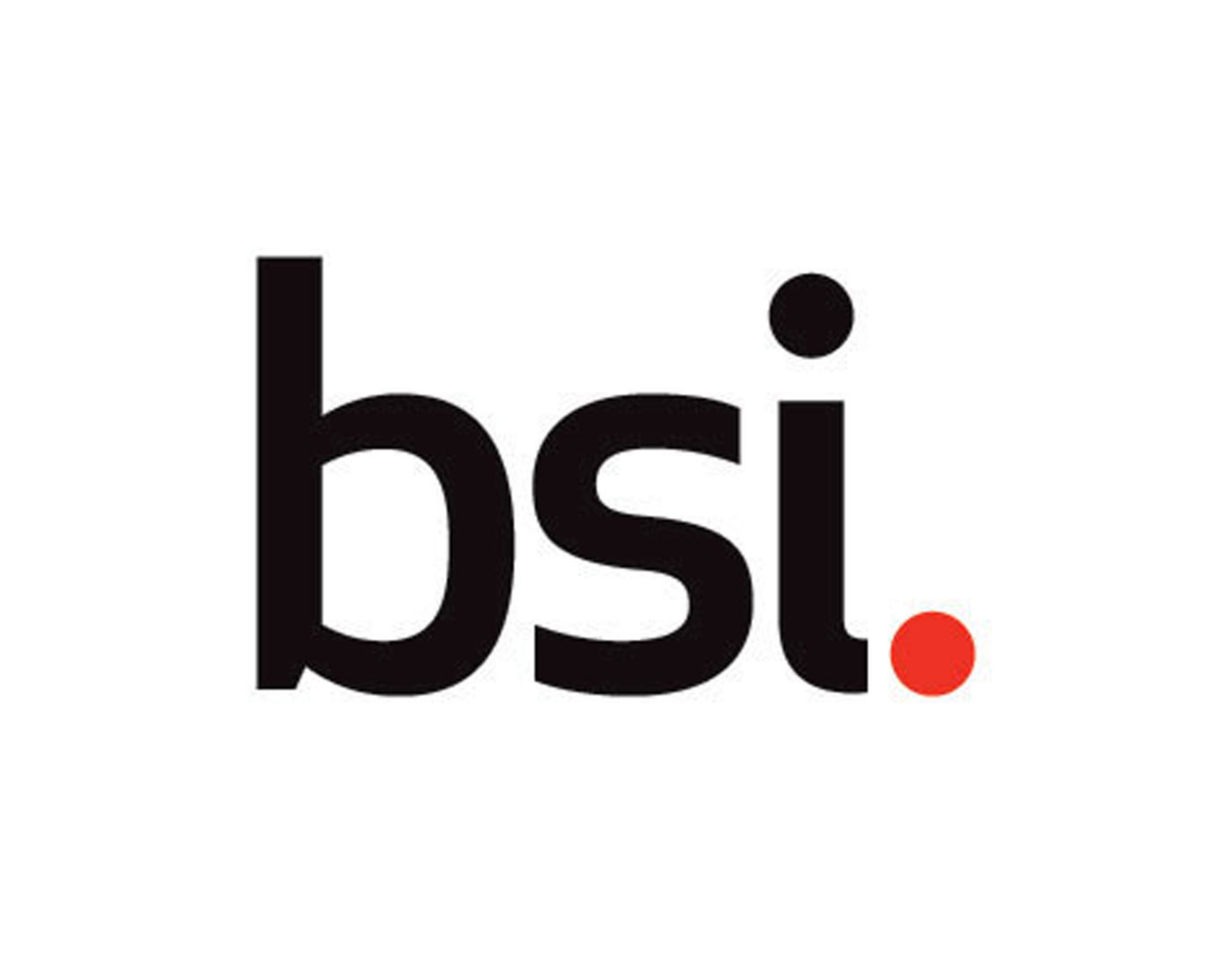 BSI logo.