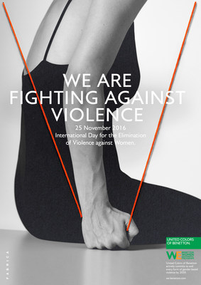 United Colors of Benetton for Elimination of Violence Against Women (PRNewsFoto/Benetton Group)