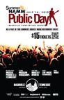 Summer NAMM Public Day Offers Access into Exclusive Music Products Event on July 14th