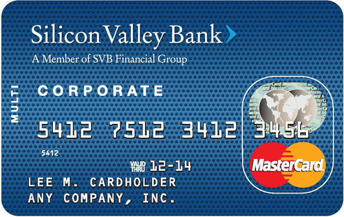 Silicon valley bank now offering multi card by mastercard colourmoves