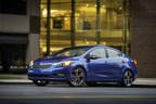 2015 Kia Forte earns NHTSA 5-Star safety rating (PRNewsFoto/Kia Motors America)