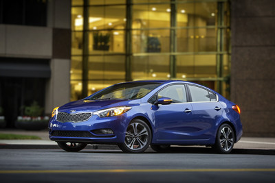 2015 Kia Forte earns NHTSA 5-Star safety rating (PRNewsFoto/Kia Motors America)