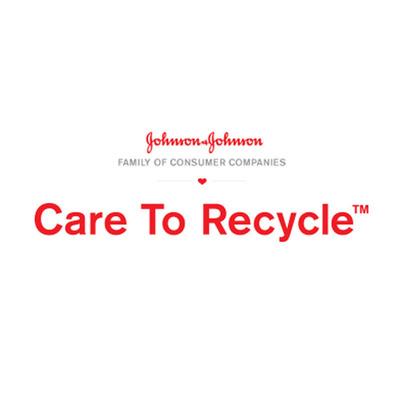 Johnson & Johnson Family of Consumer Companies CARE TO RECYCLE(TM) Logo.  (PRNewsFoto/Johnson & Johnson Family of Consumer Companies)
