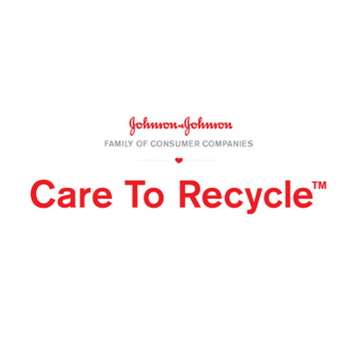 Johnson & Johnson Family of Consumer Companies CARE TO RECYCLE(TM) Logo.  (PRNewsFoto/Johnson & Johnson Family of Consumer Companies)