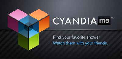 Cyandia.Me is a free TV-companion app that allows you to find the shows you like and watch them with your friends, wherever you are.  (PRNewsFoto/Cyandia, Inc.)