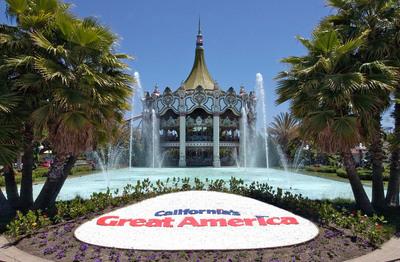 California's Great America theme park in Santa Clara, California. (PRNewsFoto/Santa Clara Convention and Visitors Bureau)