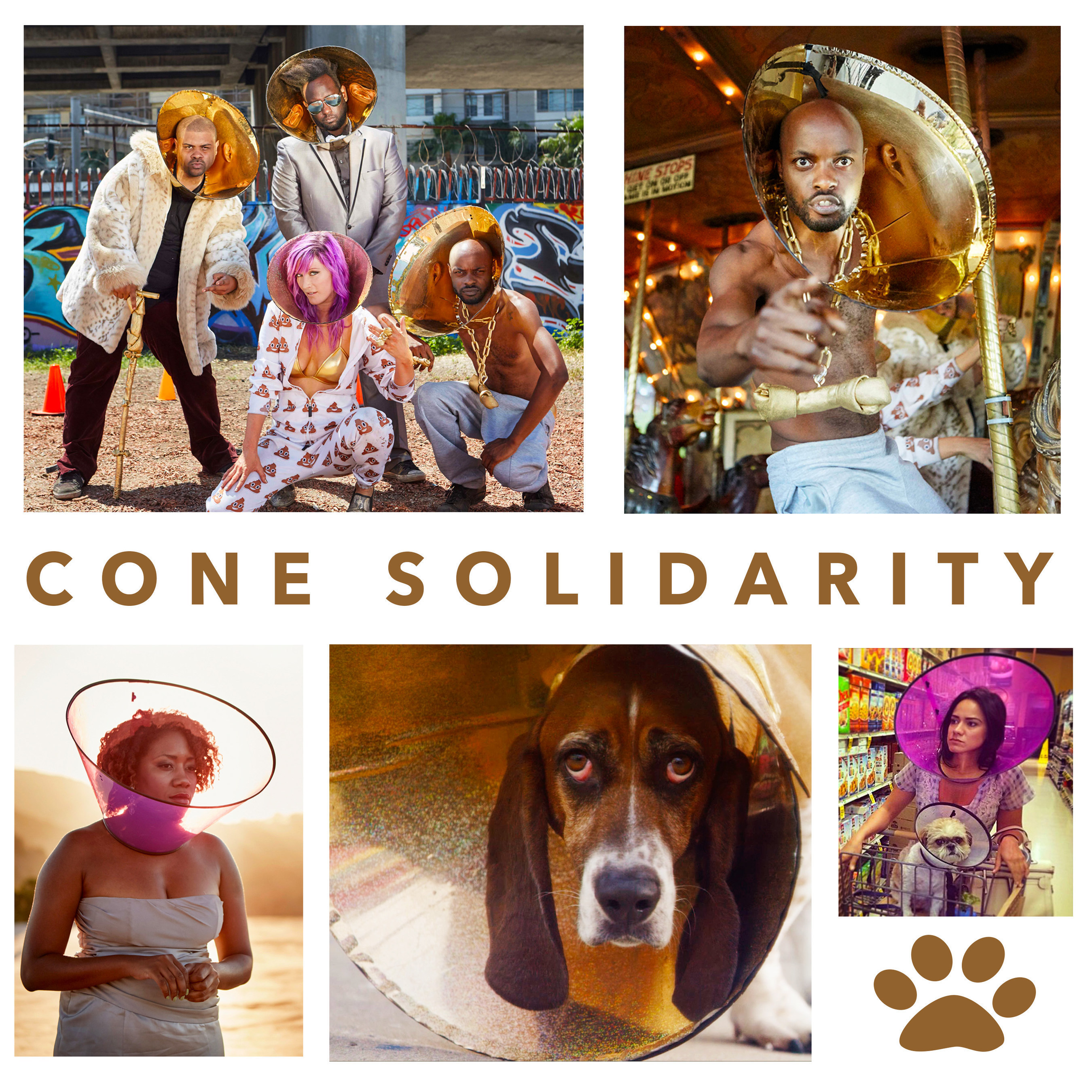 New Comedy Rap Video 'CONE SOLIDARITY' Debuts Today Benefitting Animal Shelter THE AMANDA FOUNDATION