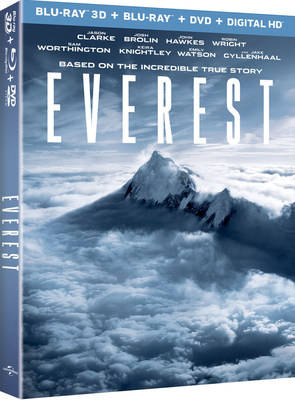 From Universal Pictures Home Entertainment: Everest