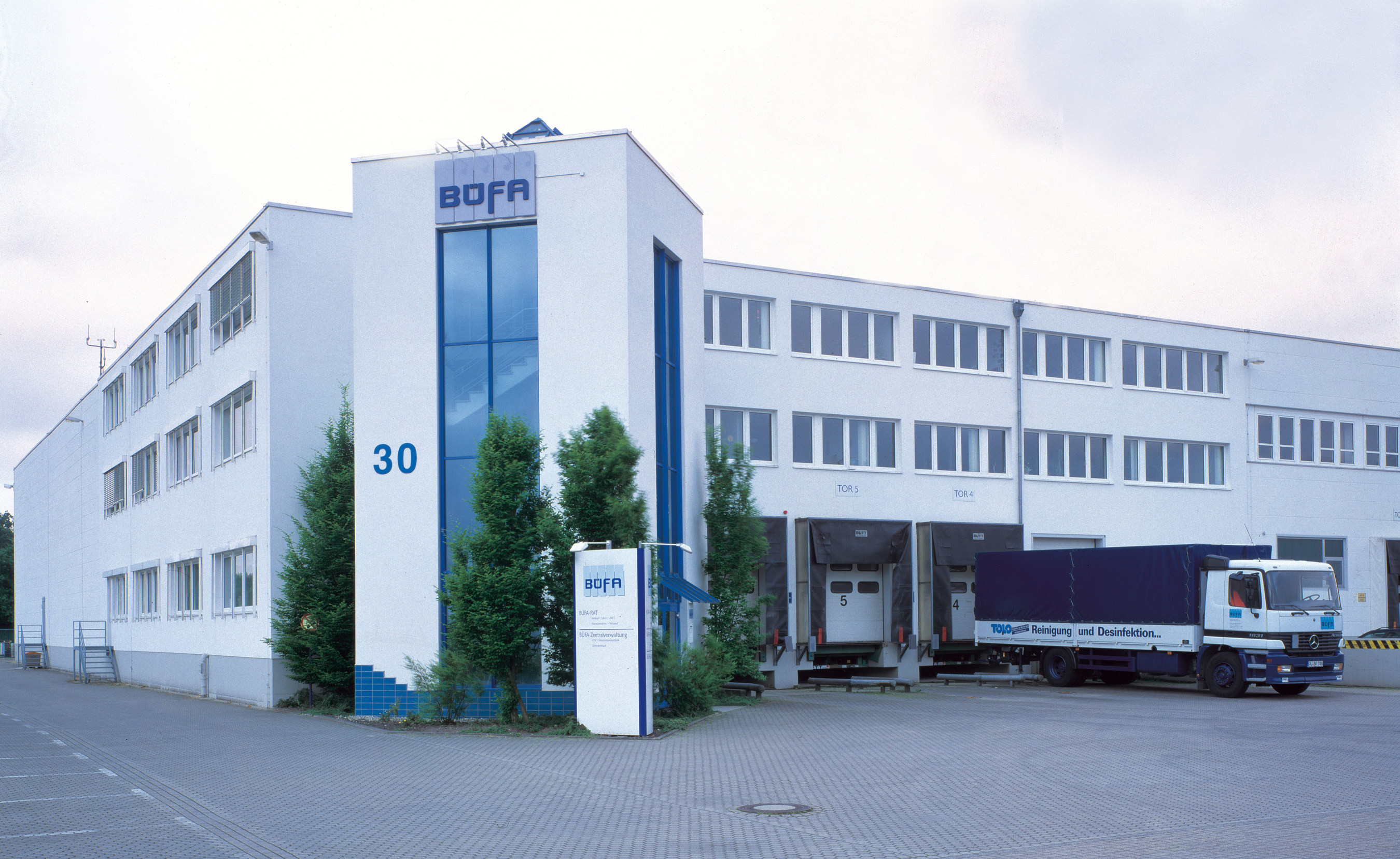 BUFA offices in Oldenburg, Germany.