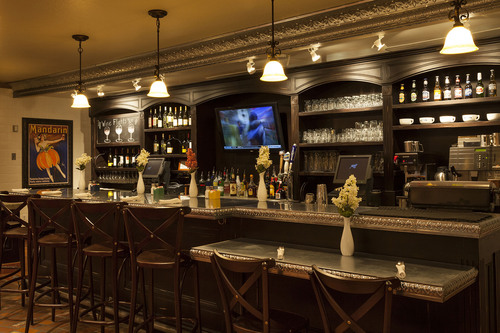 Mimi's new full-service bistro bar serving a comprehensive wine, beer and spirits program featuring a wide ...