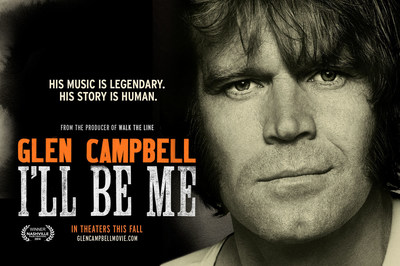 """Glen Campbell...I'll Be Me"" opens in theaters October 24 (PRNewsFoto/PCH Films)"