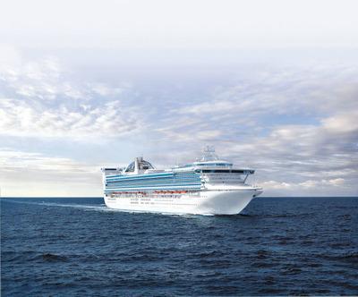 Golden Princess sets sail today from Los Angeles marking Princess Cruises' brand newshort Getaway cruise season. (PRNewsFoto/Princess Cruises)