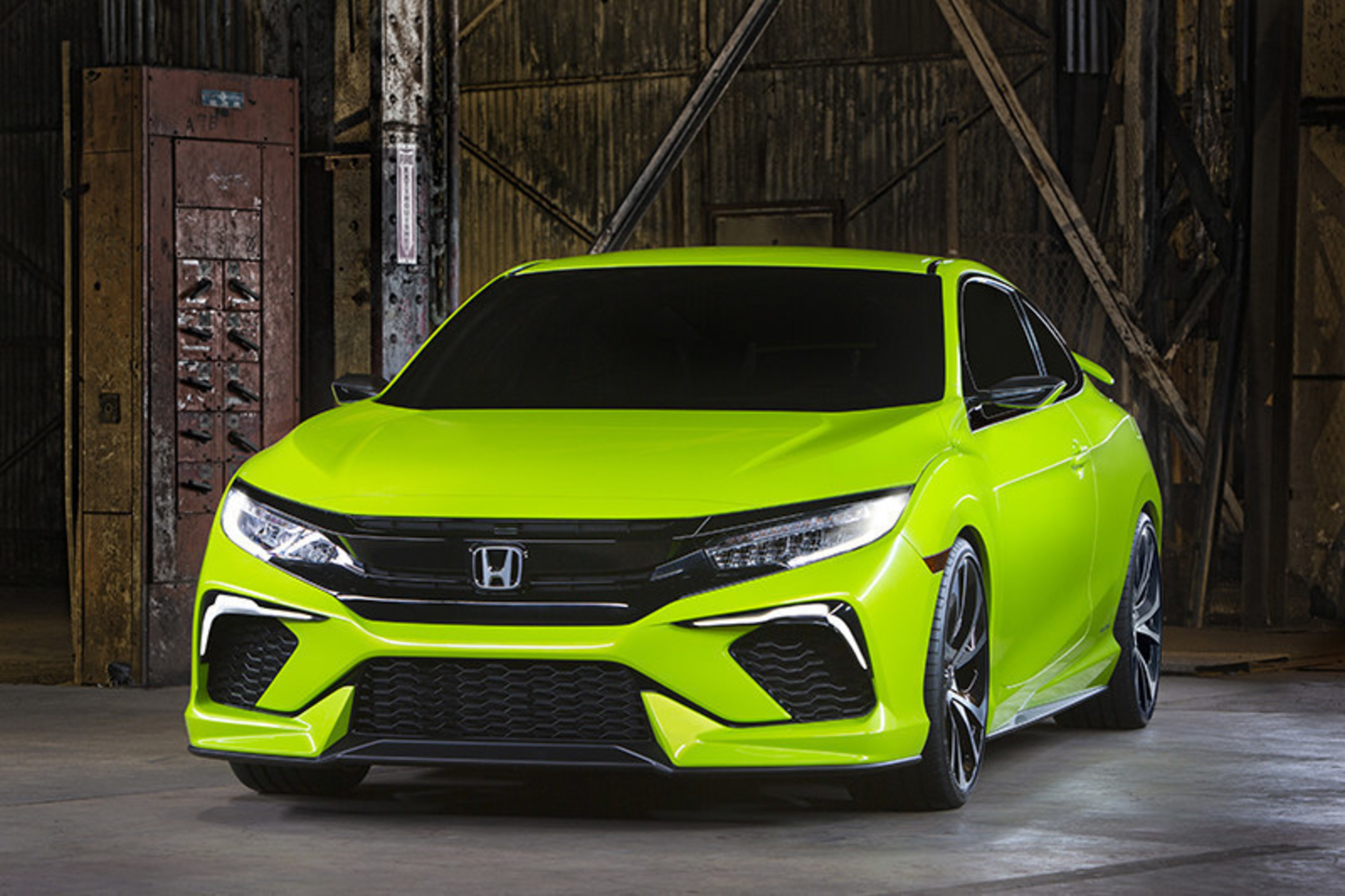 Honda Debuts Sportiest Civic Design in Brand History with 10th-Generation Civic Concept at New York International Auto Show