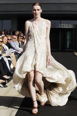 Sustainable fashion show from Copenhagen Fashion Summit 2012