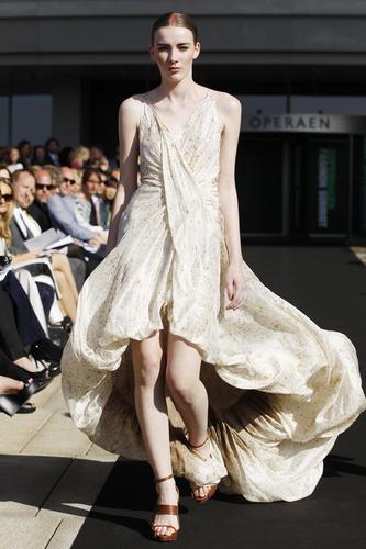 Sustainable fashion show from Copenhagen Fashion Summit 2012 (PRNewsFoto/Danish Fashion Institute)