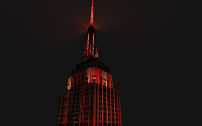 Empire State Building To Light In Celebration Of The Metropolitan Museum of Art's Costume Institute China Exhibition And Gala On Monday, May 4