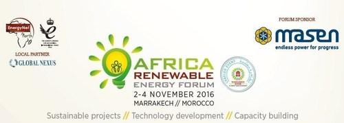 Africa Renewable Energy Forum 2016, side-event COP22, Marrakech. (PRNewsFoto/EnergyNet)