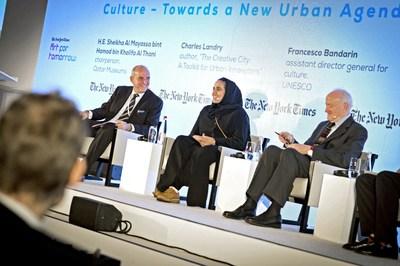 Sheikha Al Mayassa (PRNewsFoto/W Doha)