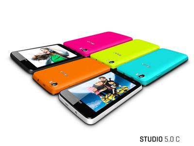 Studio 5.0 C (PRNewsFoto/BLU Products)