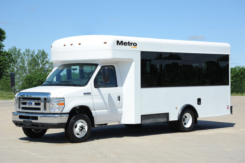 The Metro Link bus by Winnebago Industries, Inc.  (PRNewsFoto/Winnebago Industries, Inc.)