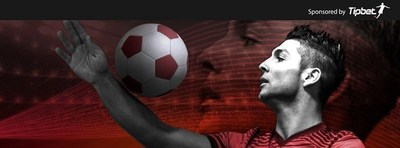 SAKI FREESTYLE - Official Tipbet Brand Ambassador, Freestyle Football, Athlete, Sports Model, Ronaldo Double (PRNewsFoto/Tipbet.com)