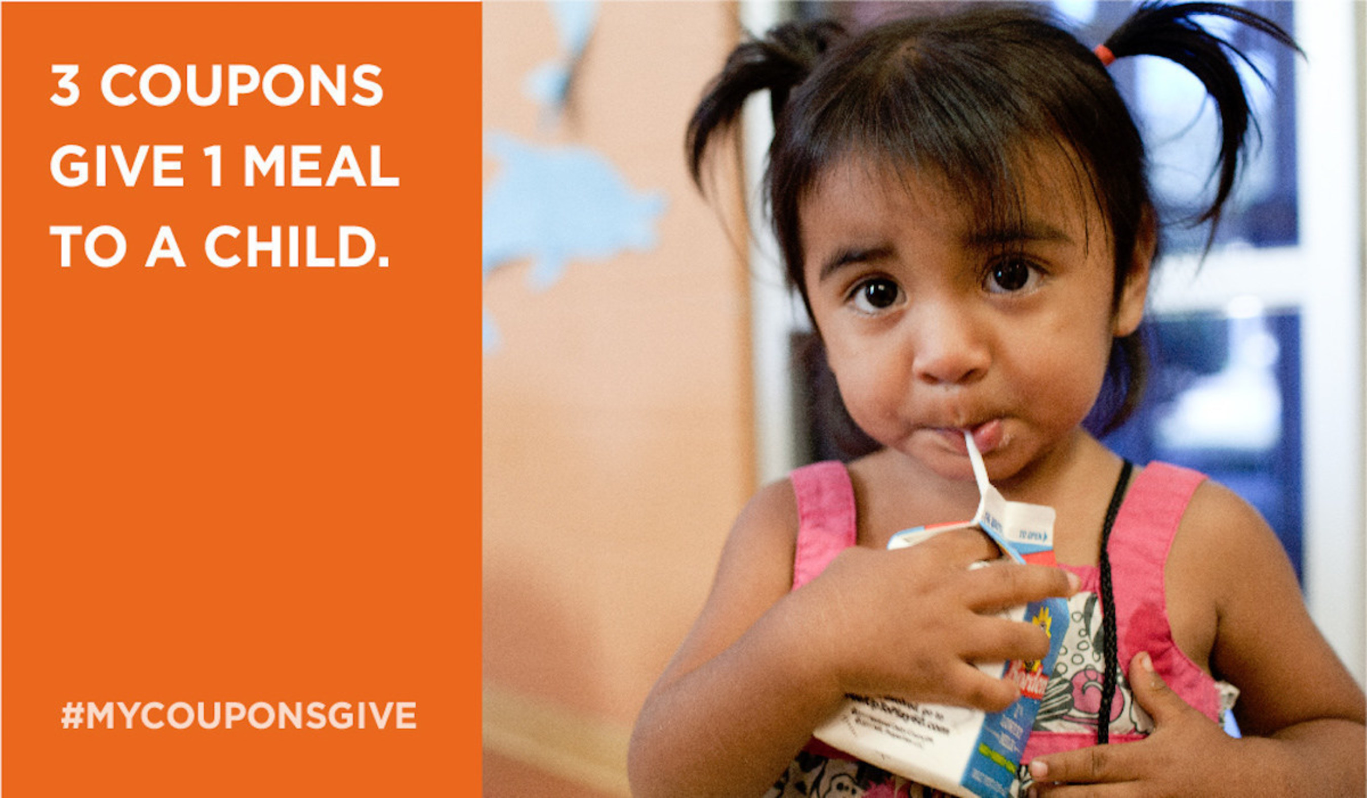 Quotient Launches #MyCouponsGive to Support No Kid Hungry