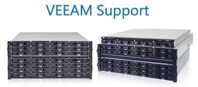 Infortrend EonStor DS 3000 und EonNAS 3000 Systeme kompatibel mit Veeam Backup & Replication v7