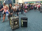 Orion Mobile Luggage Billboard at Orlando Airport