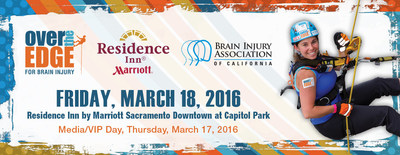 We're taking fundraising to new heights.  Go Over The Edge For Brain Injury in Sacramento on 3/18.  Register at biacal.org