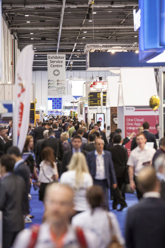 Busy aisles at IFSEC International 2015 (PRNewsFoto/UBM EMEA) (PRNewsFoto/UBM EMEA)