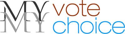 My Vote My Choice logo.  (PRNewsFoto/My Vote My Choice)