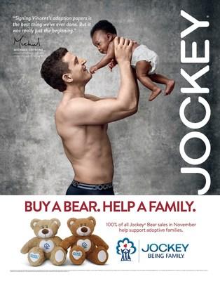 Jockey Show 'Em Family Campaign