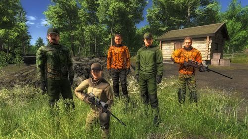 Multiplayer Group Shot