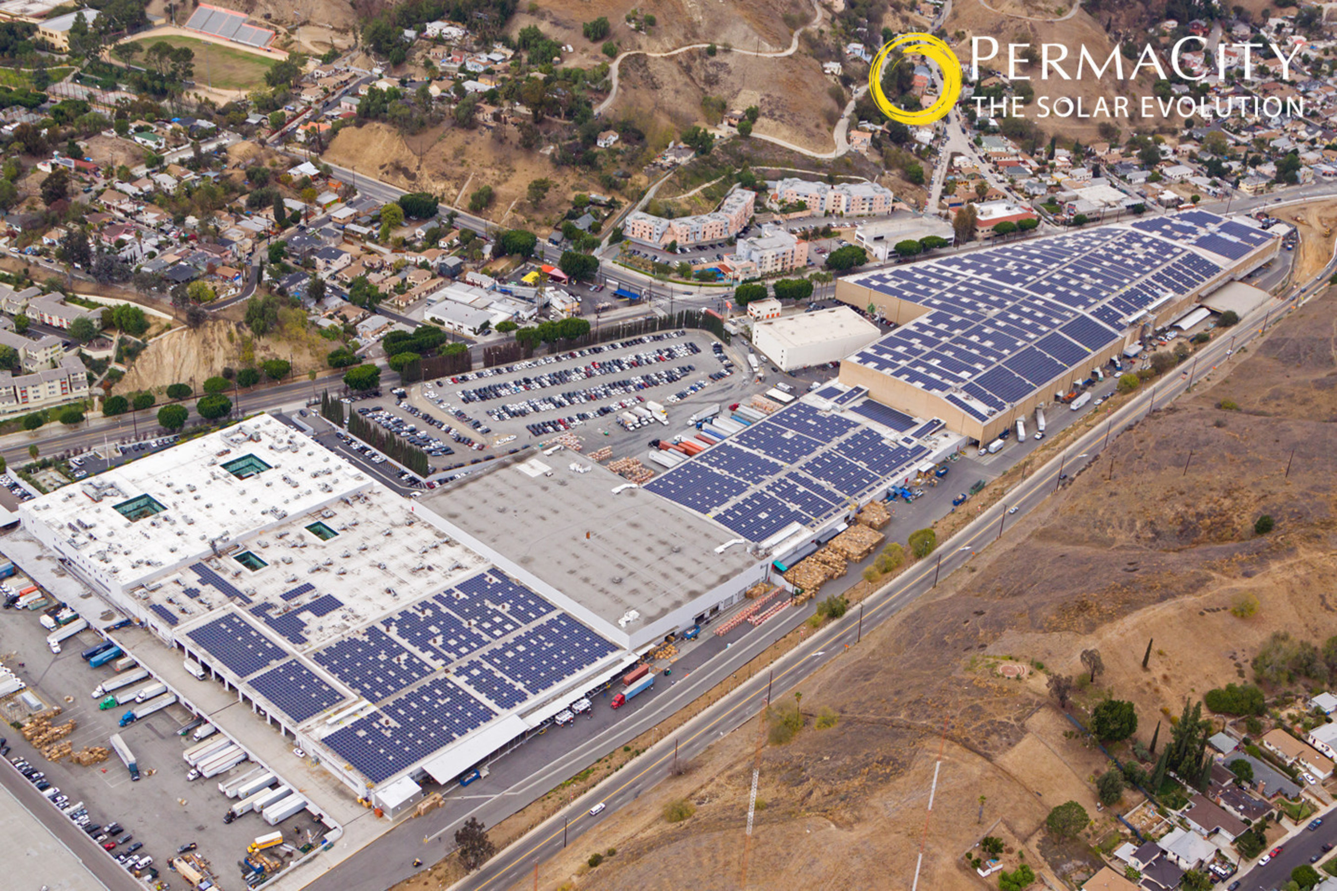 Forever 21's 5MW PermaCity Solar System