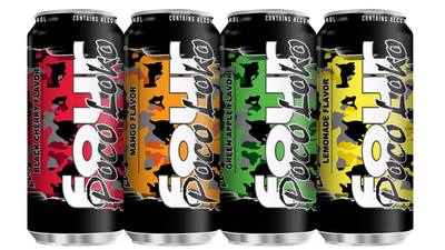 Phusion Projects New Poco Loko Products - Black Cherry, Mango, Green Apple, Lemonade.  (PRNewsFoto/Phusion Projects, LLC)
