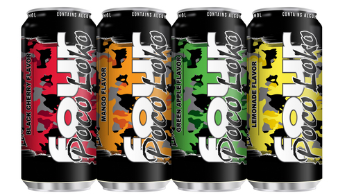 Phusion Projects New Poco Loko Products - Black Cherry, Mango, Green Apple, Lemonade.  (PRNewsFoto/Phusion ...