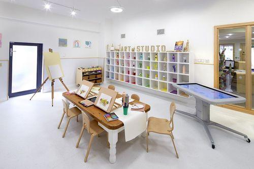 Dedicated Art Room (PRNewsFoto/Bright Horizons)