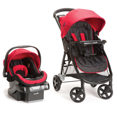 Safety 1st Step and Go Travel System - Scarlet Red